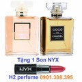 Bộ Đôi Chanel + Tặng Son NYX TS001