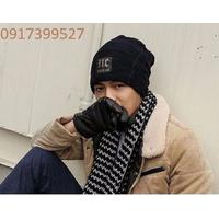 Nón len Mũ len 2 lớp thời trang Hàn Quốc L1290