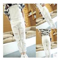 Quần jeans yếm rách cá tính Mã: QD906