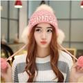 Mũ Nón len nữ thu đông hai lớp Style Korea