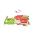 Bộ 4 hộp đựng bánh mứt kẹo đầy màu sắc