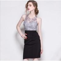 Đầm ren dạ hội cao cấp hình thật A460-DL232