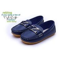Giày slip-ons Z-88 xanh