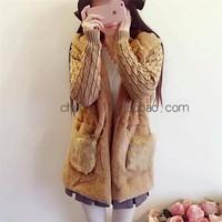 Áo khoác lông tay len siêu dày