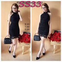 Đầm ren yếm - SS33