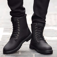 DC076 - Giày Boot men cá tính POSA