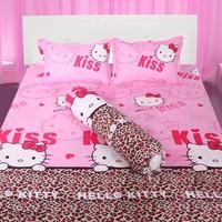 Bộ ga giường cotton kitty beo 1m6 x 2m TTSHOP