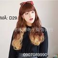 Tóc giả Hàn Quốc nữ nhuộm light -- D29