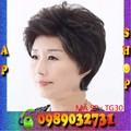 Tóc giả trung niên nữ tặng kèm lưới - tg30