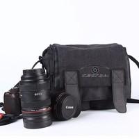 Túi đựng máy ảnh DSLR Caden M2 size vừa màu đen