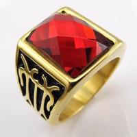 Nhẫn đồng tựa vàng tây127