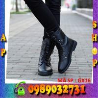 Giày bốt nam da bò cao cấp chính hãng - GX16