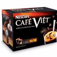 Cà phê hòa tan nestcafe việt đen 15 gói