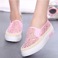 Giày nữ họa tiết Ren cực xinh