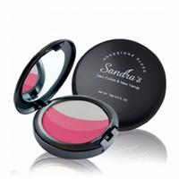 Phấn má hồng hút dầu siêu mịn SANDRA - 5 màu