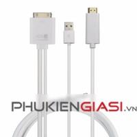 Cáp HDMI dành cho Iphone 4, 4s, Ipad 2,3, 30pin to HDMI hỗ trợ iOS 9