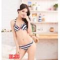 Set bộ đồ bơi sọc xinh xắn-BL255