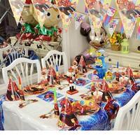Bộ trang trí tiệc sinh nhật 64 món tiện lợi
