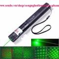 Đèn Laser 303 tia sáng xanh,đẹp có hoa văn.