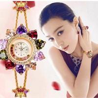 Đồng hồ nữ trang cao cấp Mèo 076