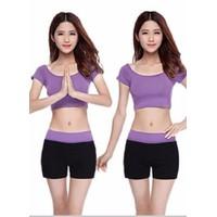 Bộ quần áo tâp thể dục thẩm mỹ TM012