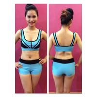 Bộ quần áo tập thể dục thẩm mỹ TM002