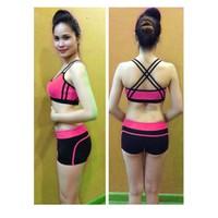 Bộ quần áo tập thể dục thẩm mỹ TM008