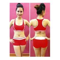 Bộ quần áo tập thể dục thẩm mỹ TM005