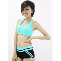 Bộ quần áo tâp thể dục thẩm mỹ TM014
