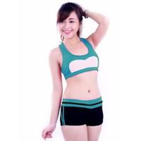 Bộ quần áo tâp thể dục thẩm mỹ TM026