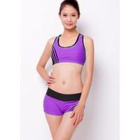 Bộ quần áo tập thể dục thẩm mỹ TM003