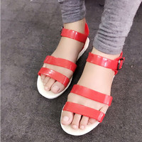 Sale off - Giày sandals nhựa 2 quai SDQN28