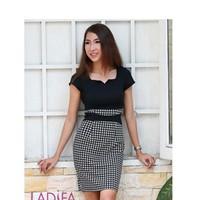 Đầm công sở LADIFA - LD388