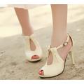 Giày cao gót hở mũi gợi cảm