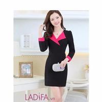 Đầm công sở LADIFA - LD417