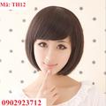 Tóc Giả Nữ Hàn Quốc Tặng Lưới - TH12