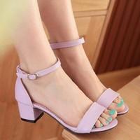 HÀNG CAO CẤP LOẠI I - Giày sandal nữ đế vuông