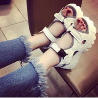 S021T - Giày sandal bánh mì cá tính