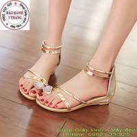 Giày Sandal đính đá Mia