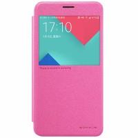 Bao da Nillkin cho Samsung Galaxy A9 Hồng đỏ