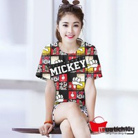 MTL -  Áo thun nữ Mickey
