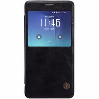 Bao Da Nillkin Qin Cho Samsung Galaxy Note 5 Đen