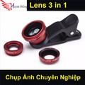 Lens Chụp Hình Điện Thoại 3 in 1