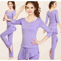Bộ tập Yoga áo và quần dài BT671