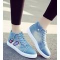 giày sneaker jeans sport ML Mã: GT0064 - XANH NHẠT