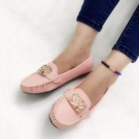 HÀNG CAO CẤP LOẠI 1 - Giày búp bê họa tiết 4 màu