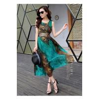 Đầm Maxi thời trang TADM2535