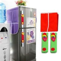 Combo tay nắm tủ lạnh và miếng phủ tủ lạnh