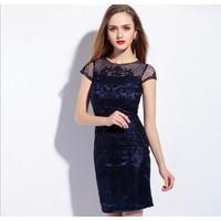 Đầm ren dạ hội cao cấp ML16026
