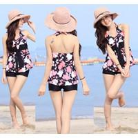 Set Bộ bikini đồ bơi nữ,thiết kế gợi cảm,họa tiết hoa -DB033